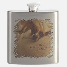 Save a Life . . . Adopt! Flask