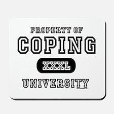 Coping University Mousepad