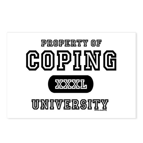 Coping University Postcards (Package of 8)