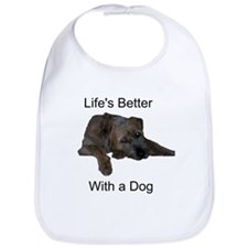 Life's Better With a Dog Bib