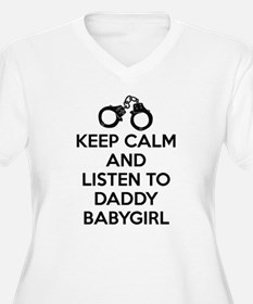 Keep Calm and Listen to Daddy w/ Handcuffs Plus Si