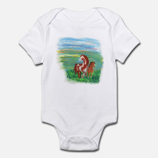 Horse And Colt Infant Bodysuit