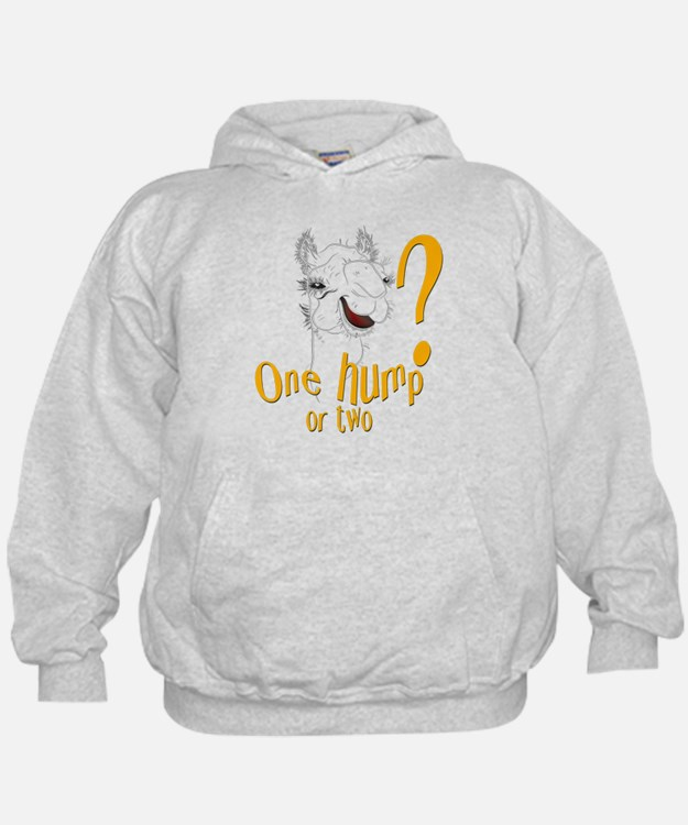 Hump Day Camel Spoof Hoodie