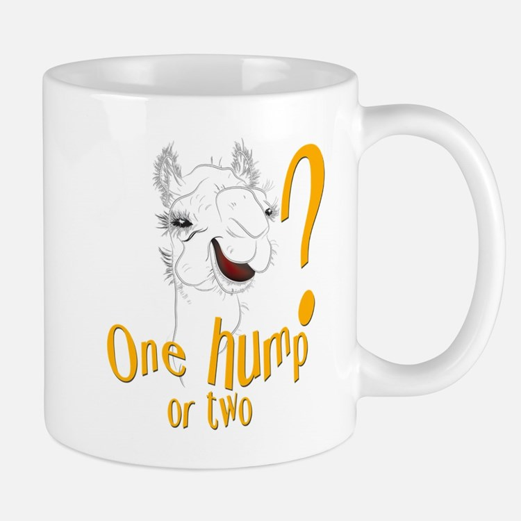 Hump Day Camel Spoof Mug