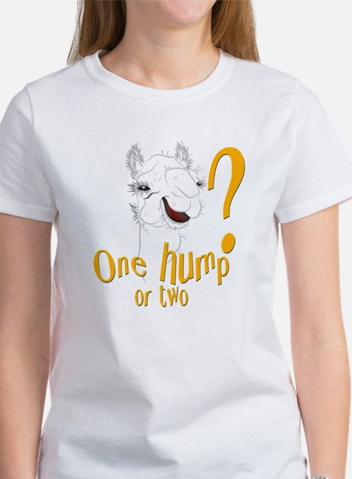 Hump Day Camel Spoof Women's T-Shirt