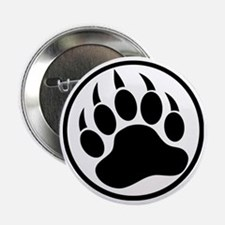 "Classic black bear claw inside a black ring. 2.25"""