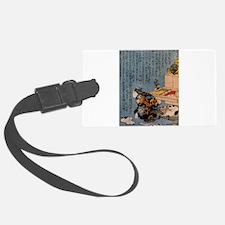 Self-portrait_of_the_shunga_album Luggage Tag