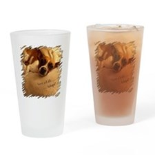 Save a Life . . . Adopt! Drinking Glass