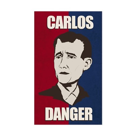 Carlos Danger Sticker (Rectangle)