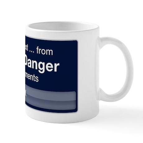 Incoming Text from Carlos Danger Mug