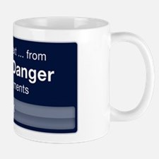 Incoming Text from Carlos Danger Mug