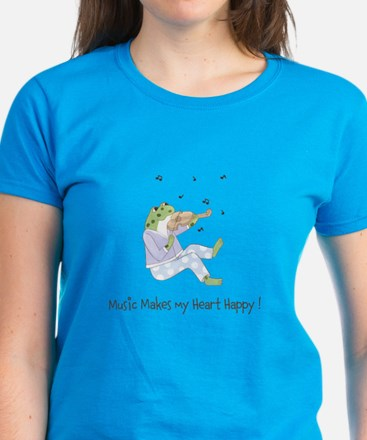 Personalized Music Frog Tee