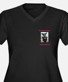Forgotten Paws Animal rescue Plus Size T-Shirt