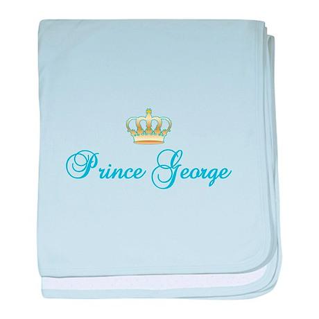 Prince George baby blanket