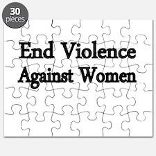 END VIOLENCE AGAINST WOMEN Puzzle