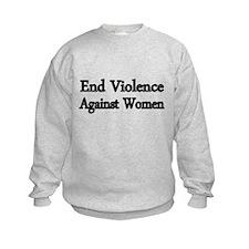 END VIOLENCE AGAINST WOMEN Sweatshirt