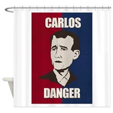 Carlos Danger Shower Curtain