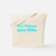 END VIOLENCE AGAINST CHILDREN 2 Tote Bag