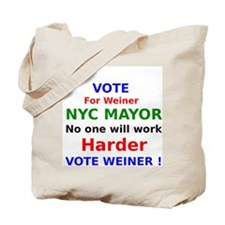Vote for Weiner NYC Mayor no one will work harder