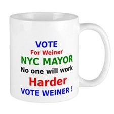 Vote for Weiner NYC Mayor no one will work harder