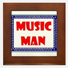 MUSIC MAN Framed Tile