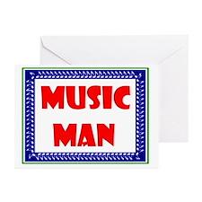 MUSIC MAN Greeting Cards (Pk of 10)