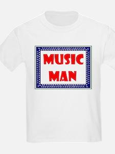 MUSIC MAN Kids T-Shirt