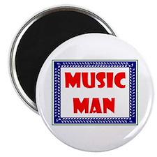 "MUSIC MAN 2.25"" Magnet (10 pack)"