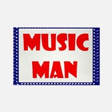 MUSIC MAN Rectangle Magnet