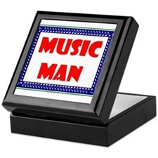MUSIC MAN Keepsake Box