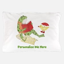 Personalized Frog Pillow Case