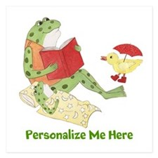 Personalized Frog Invitations
