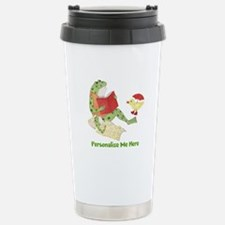 Personalized Frog Stainless Steel Travel Mug