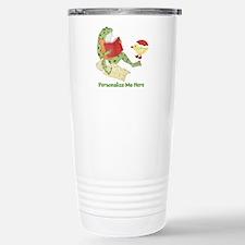 Personalized Frog Travel Mug