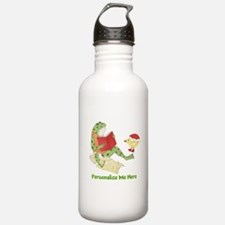 Personalized Frog Water Bottle