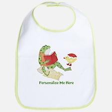 Personalized Frog Bib
