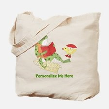 Personalized Frog Tote Bag