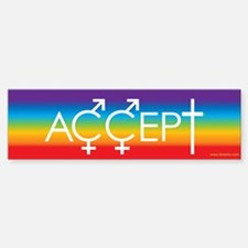 Equal Rights for all Bumper Car Car Sticker