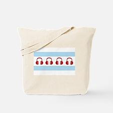 Chicago EDM Flag Tote Bag