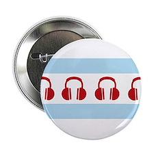 "Chicago EDM Flag 2.25"" Button"