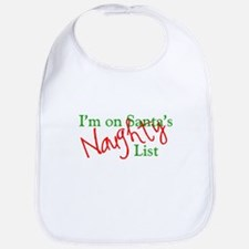 Santa's Naughty List Bib