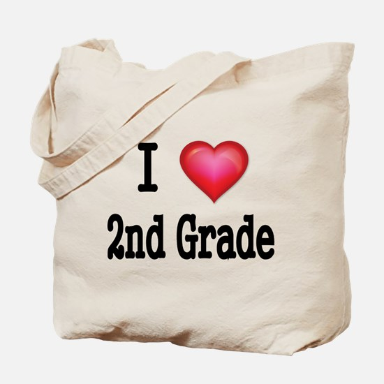 I LOVE 2ND GRADE Tote Bag