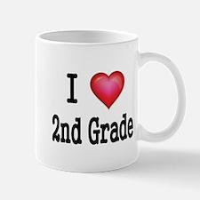 I LOVE 2ND GRADE Mug