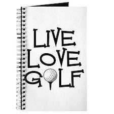 Live, Love, Golf Journal
