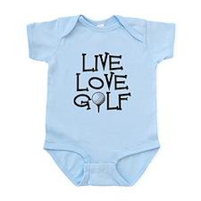 Live, Love, Golf Body Suit