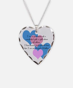 Angel's Mother Necklace