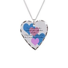 Angel's Mother Necklace Heart Charm