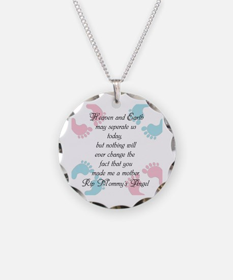 You Made Me A Mother Necklace