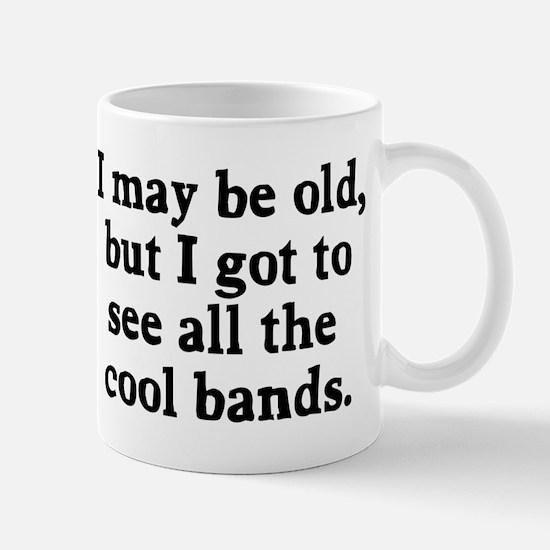 May be old cool bands Mug