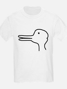 Rabbit Duck Optical Ilusion T-Shirt